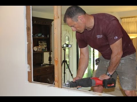 Cutting An Opening In A Non-Load Bearing Wall