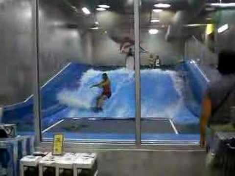 surfing in the mall