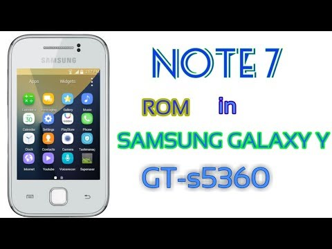 Install note7 rom on SAMSUNG GALAXY GT s5360
