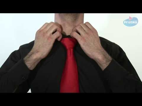 How to make a knot tie - the Windsor