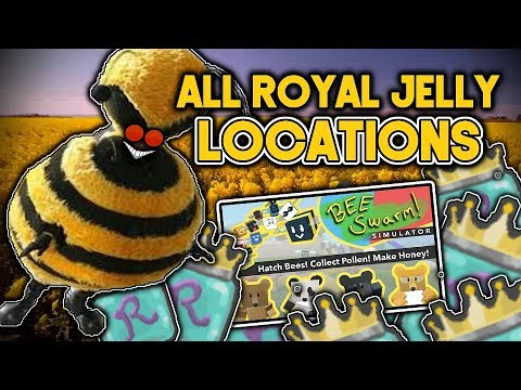 ALL ROYAL JELLY LOCATIONS | Bee Swarm Simulator