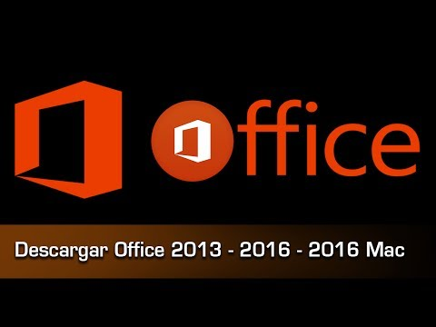 Descargar Office 2013, 2016, 2016 Mac