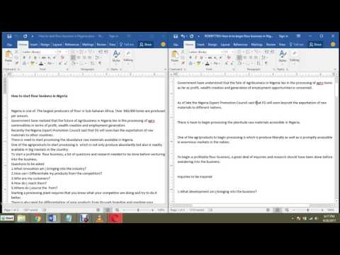 How To Edit/Proofread Our Works