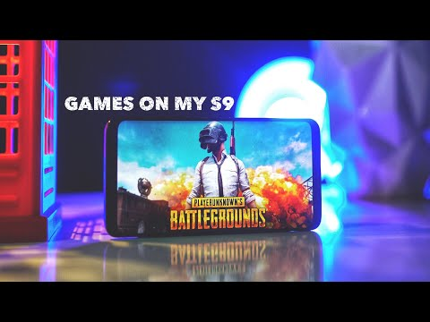 10 GAMES I PLAY ON MY GALAXY S9