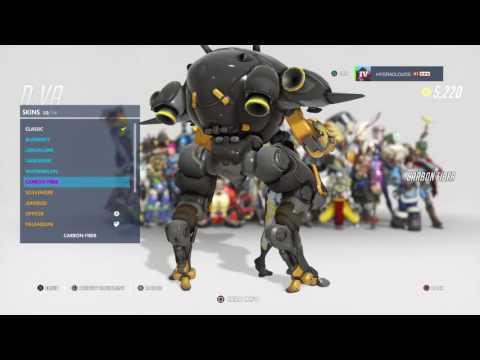 Overwatch PS4: BUYING D.VA'S GOLDEN GUN