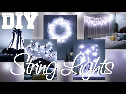 5 DIYs with String Lights