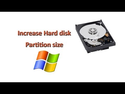 How to increase the size of partiton in Windows with Disk Management