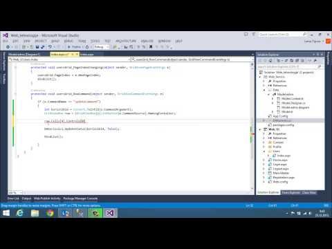 WT   ASP NET Izmjena podataka GridView RowCommand