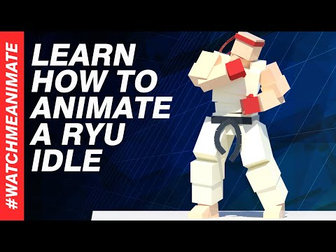 How to Animate a Ryu Idle from SFV - EP01