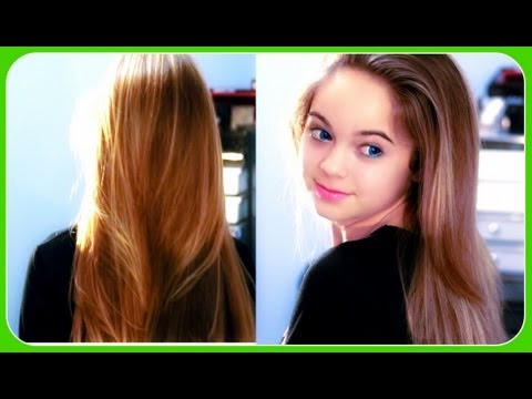 How to: Soft, Shiny, and Straight Hair!