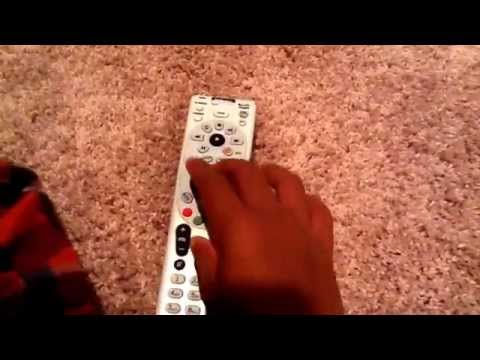 How to program a Direct TV Remote to Direct TV Receiver
