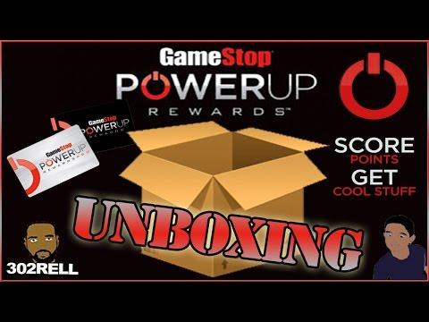 GAMESTOP POWER UP REWARDS POINTS UNBOXING #2