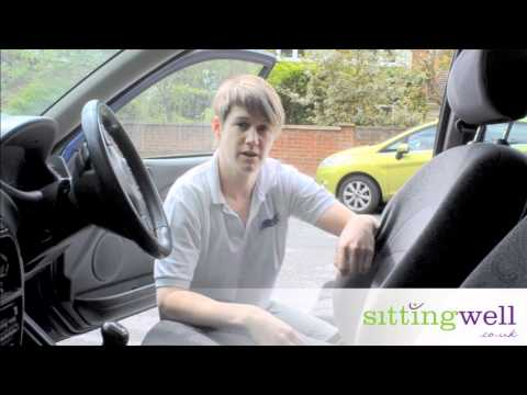 STOP BACK PAIN DRIVING - HOW TO SET UP YOUR CAR SEAT CORRECTLY