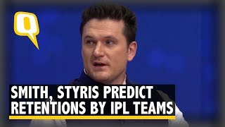 Smith, Styris, Aakash & Jones Predict Retentions by IPL Teams | The Quint