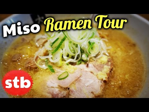 Miso Ramen Noodles Tour in Tokyo, Japan // Hunting for the BEST Miso Ramen Shop