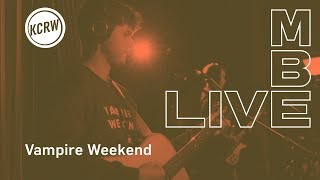 Download Vampire Weekend perofrming ″Harmony Hall″ live on KCRW Video