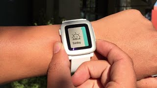 A Friendly Reminder from Pebble Time