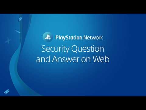 Choosing a security question and answer on Web