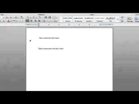 How to Eliminate Large Spaces in Microsoft Word  Microsoft Word Tutorials1369