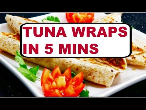 Tuna Wraps in 5 Mins | Lunch Ideas | Quick & Easy Meal | Healthy Tuna Wrap Recipe -Curry forthe Soul