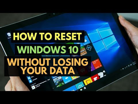 How to reset Windows 10 without losing your data - Bangla Tutorial