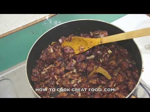 Carne Guisada Beef Stew Recipe - Mexican Spanish cooking video