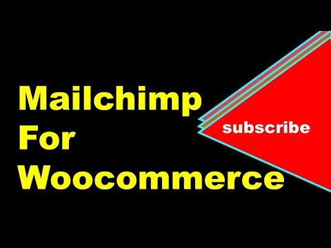 How to Connect Woocommerce with Mailchimp | Connecting Mailchimp with Woocommerce
