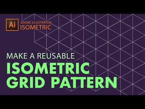 How to Make a Hexagon Grid Pattern in Adobe Illustrator for 3D Isometric Designs
