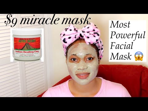 AZTEC secret Indian healing clay review...most powerful facial mask