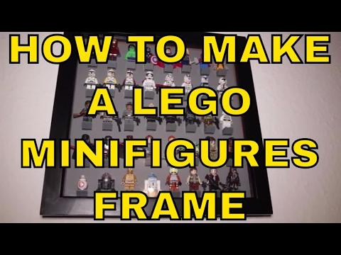 ► LEGO Minifigures Display Frame Tutorial