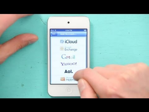 How to Access Multiple Email Accounts on Your iPod Touch : iPod & iPod Touch