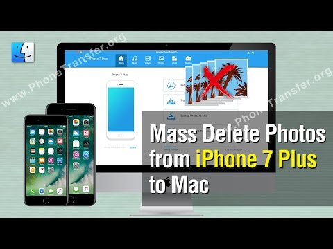 How to Mass Delete Photos from iPhone 7 Plus on Mac