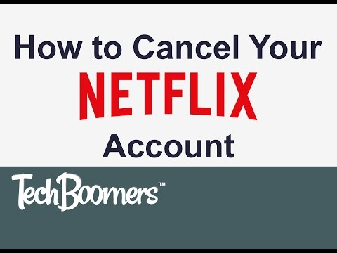 How to Cancel Your Netflix Account (2015)