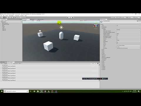 Unity 2018.2 First Person Adventure Game Tutorial 2 - Player movement with Character Controller