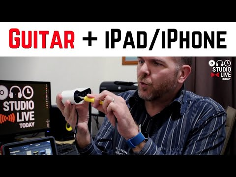 Guitar to iPhone/iPad - Connecting Electric Guitars and Bass Guitars to iOS Devices