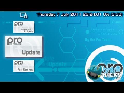 PSP 6.60 PRO - B9, B10 CFW installation [Very Easy] (PSP 3000, 2000, 1000 and PSPGo)