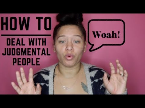How to Deal With Judgmental People| Talks With Steph