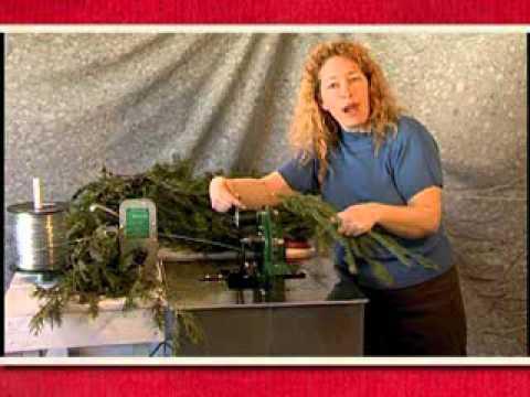WASP II Garland Machine( How to make Chtistmas garland)