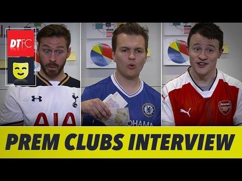 When Premier League clubs go on a job interview 😂