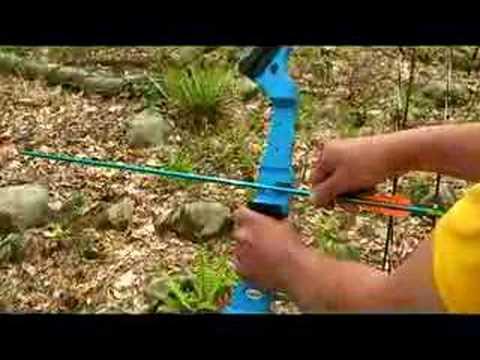 Learning Archery - How To Nock An Arrow