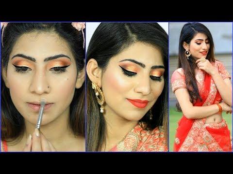 ऐसे करें शादी पार्टी मेकअप - ब्यूटी पार्लर भी फ़ैल हो जाए | Indian Wedding Guest Makeup #GRWM #Anaysa
