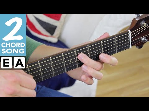 EASY 2 Chord Song #6 - SATISFACTION [Rolling Stones] Play TEN Guitar Songs With Two EASY Chords