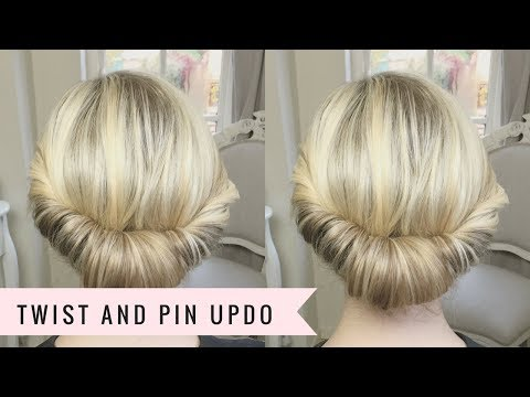 Twist and Pin Updo by SweetHearts Hair