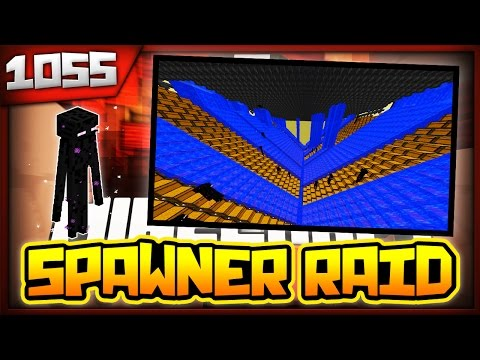 Minecraft FACTIONS Server Lets Play - 1000 ENDERMAN SPAWNERS RAIDED - Ep. 1055 ( Minecraft Faction )