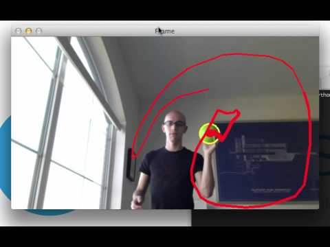 Ball Tracking with OpenCV