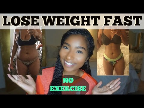 LOSE WEIGHT FAST | WITHOUT EXERCISE TIPS | JAMEXICANBEAUTY