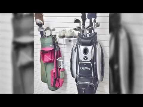Garageflex Double Golf Rack - Golf Storage for your Garage