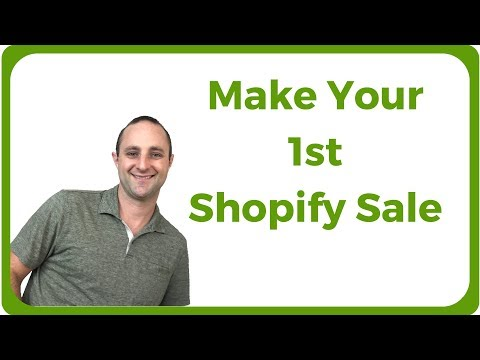 50 Ways To Make Your 1st Shopify Sale (And Make $100 A Day)