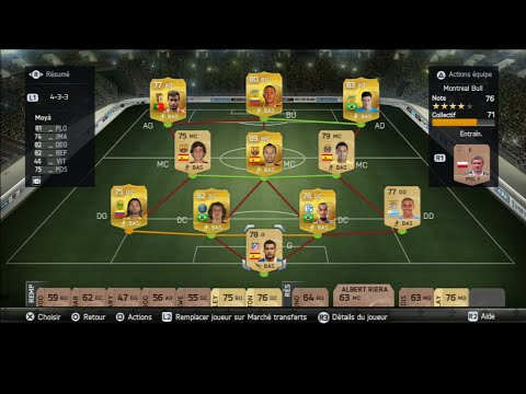 Découverte de Ultimate Team sur Fifa 15 - Ouverture de 15 Packs Or!