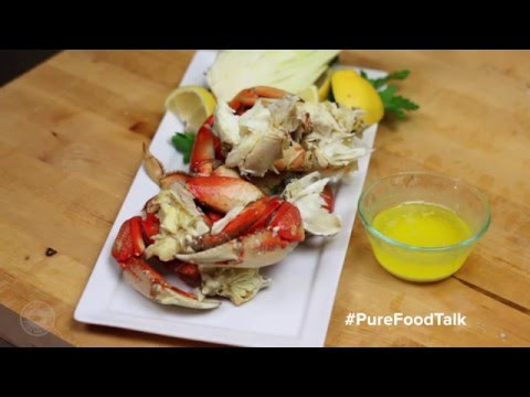 How To Clean and Serve Whole Cooked Dungeness Crab